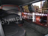 Stretch Lincoln Town Car Limousine Interior (Forward Facing)