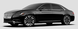 Black on Black, Lincoln Continental Exterior