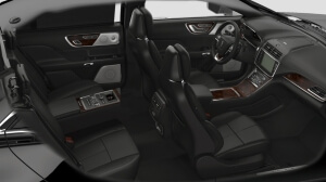 Black on Black, Lincoln Continental Interior