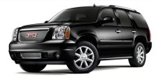 Black GMC Yukon XL Denali Executive SUV Exterior